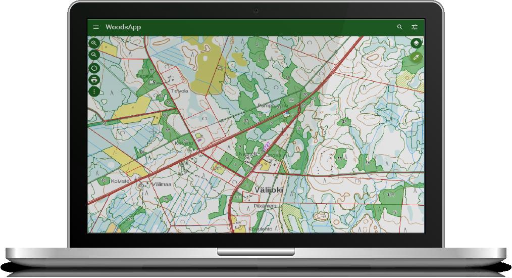 WoodsApp - Forest Information system