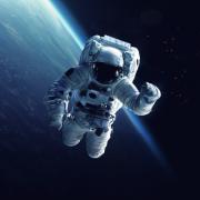 Astronautti avaruudessa